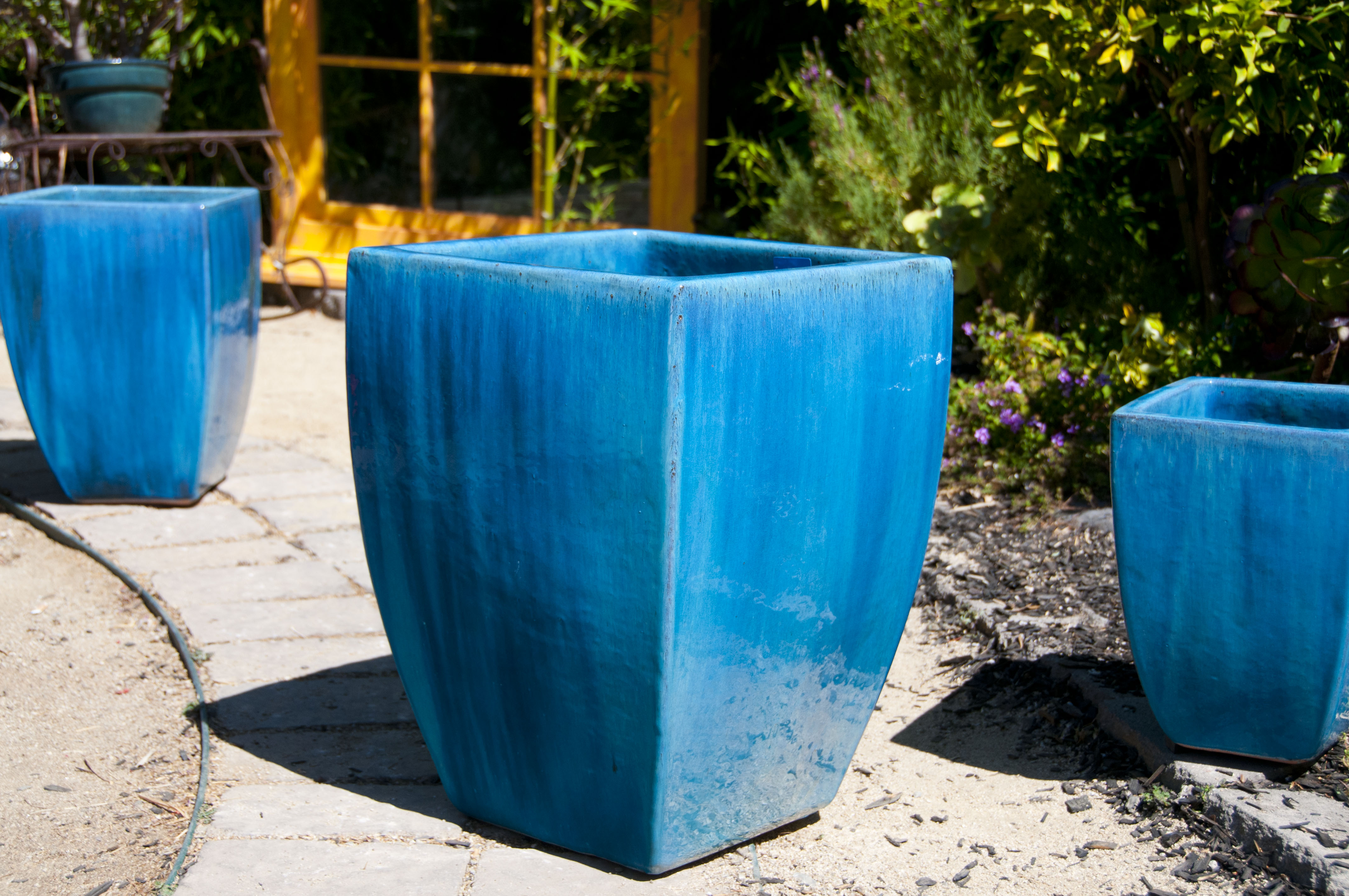 Tall Milan Square Planter